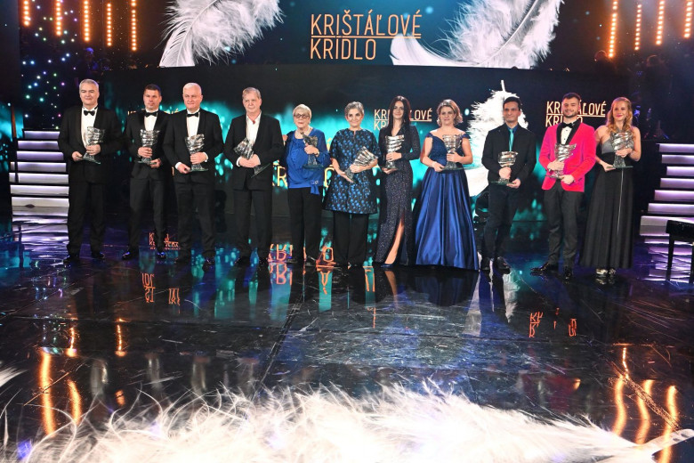 fd0550985 Janka Danišová z Bánoviec dostala Krištáľové krídlo za filantropiu